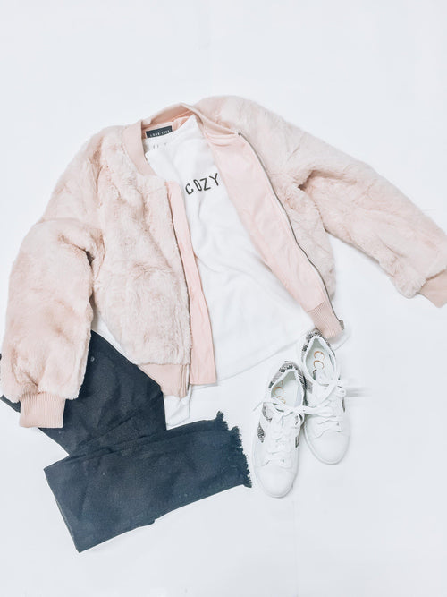 Pink Ladies Jacket-Women's TOP-New Arrivals-Runway Seven