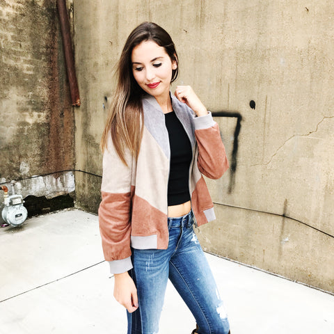 Three's A Crowd Bomber Jacket