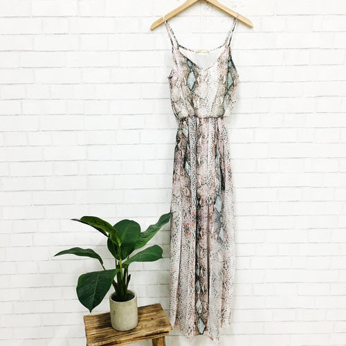 Snake In The Grass Maxi Dress