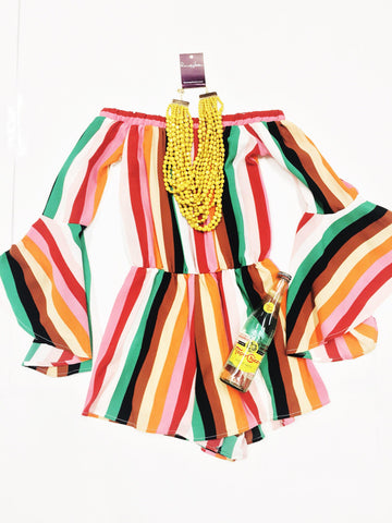 Somewhere Over The Rainbow Romper