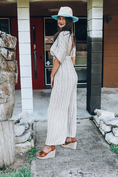 Choose Happy Jumpsuit-Women's ROMPER-New Arrivals-Runway Seven