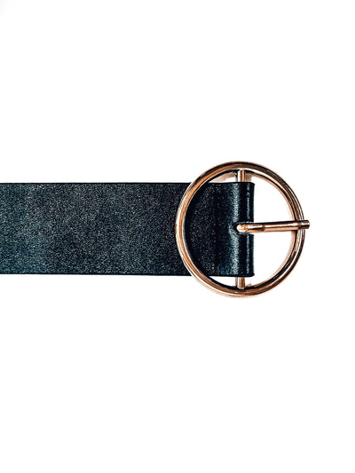 Buckle Up Belt-Gold-Women's ACCESSORIES-New Arrivals-Runway Seven