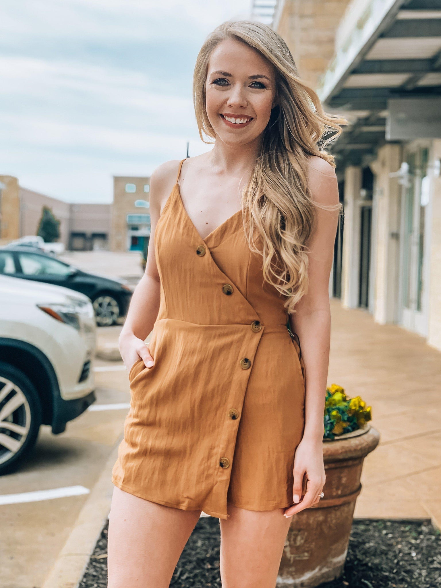 Honey Bee Romper