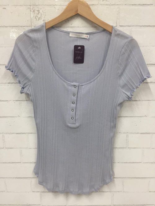 Sky Blue Top-Women's SALE-New Arrivals-Runway Seven