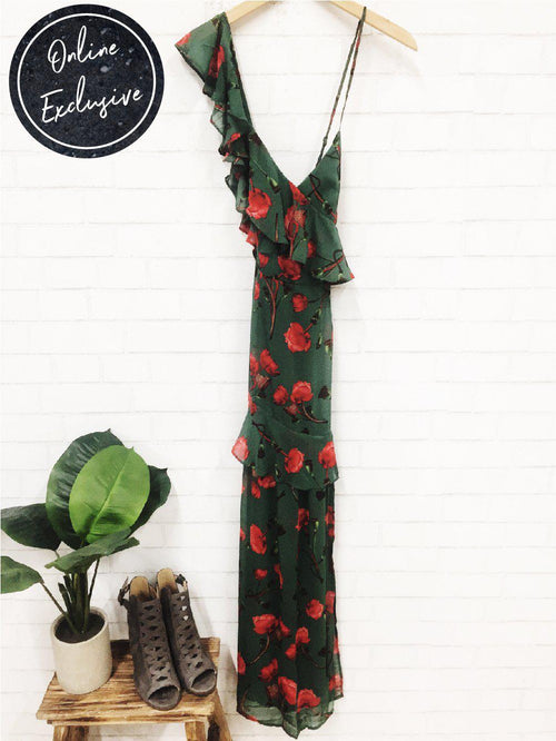 Online Exclusive: Every Rose Has Its Thorn Dress-Women's DRESS-New Arrivals-Runway Seven