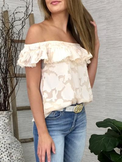 Peaches and Cream Top-Women's -New Arrivals-Runway Seven