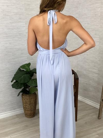 Pleats to Meet You Jumpsuit-Women's -New Arrivals-Runway Seven