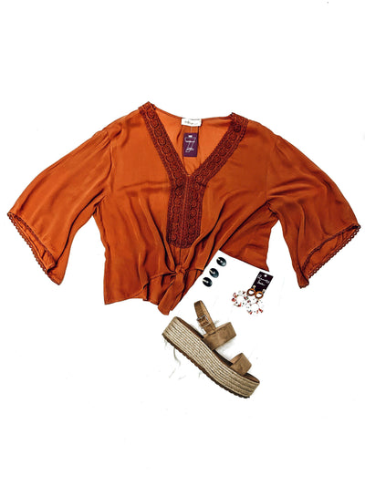 Adventure Time Top-Rust-Women's TOP-New Arrivals-Runway Seven