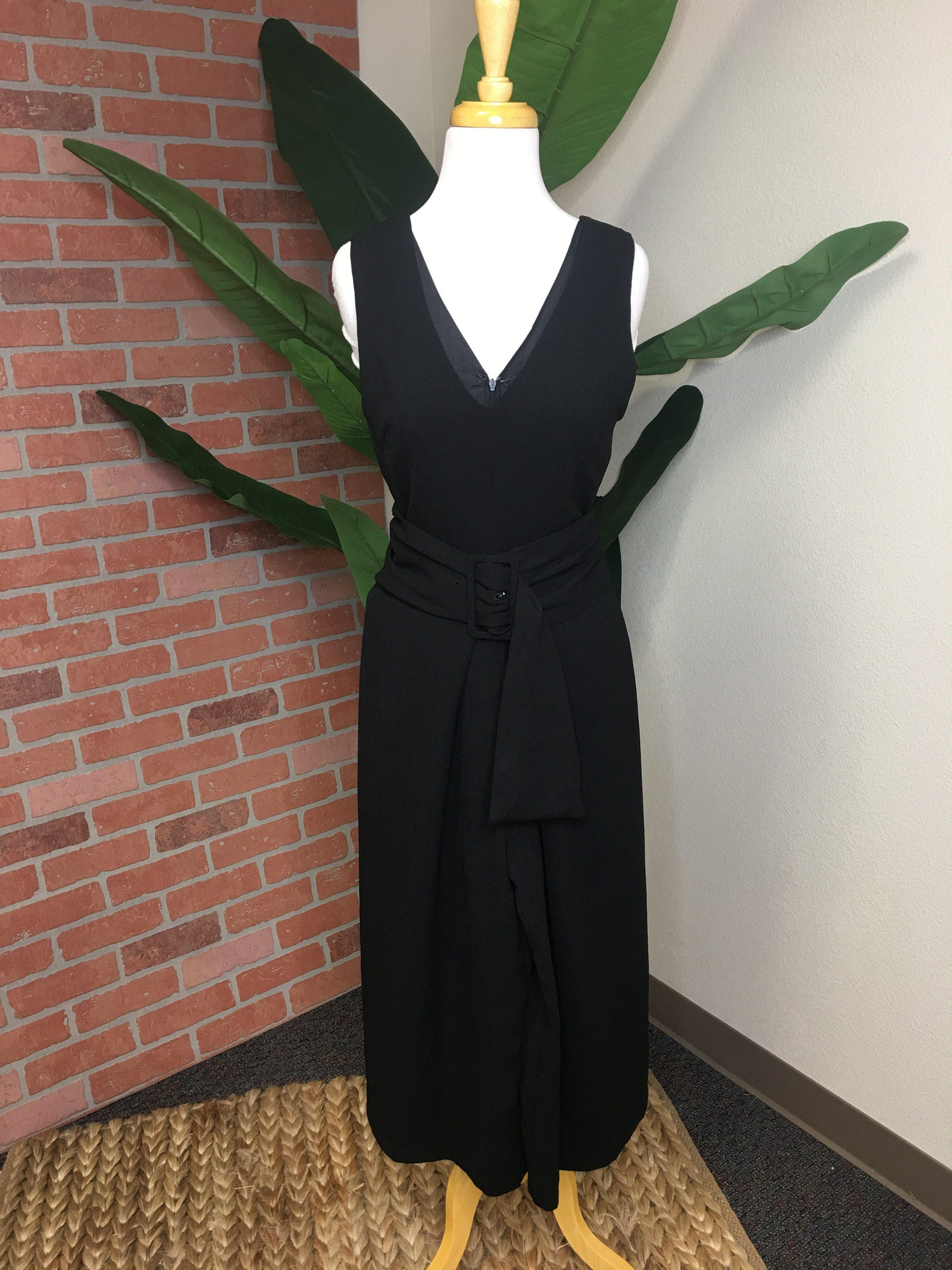 Buckle Up Jumpsuit-Women's SALE-New Arrivals-Runway Seven
