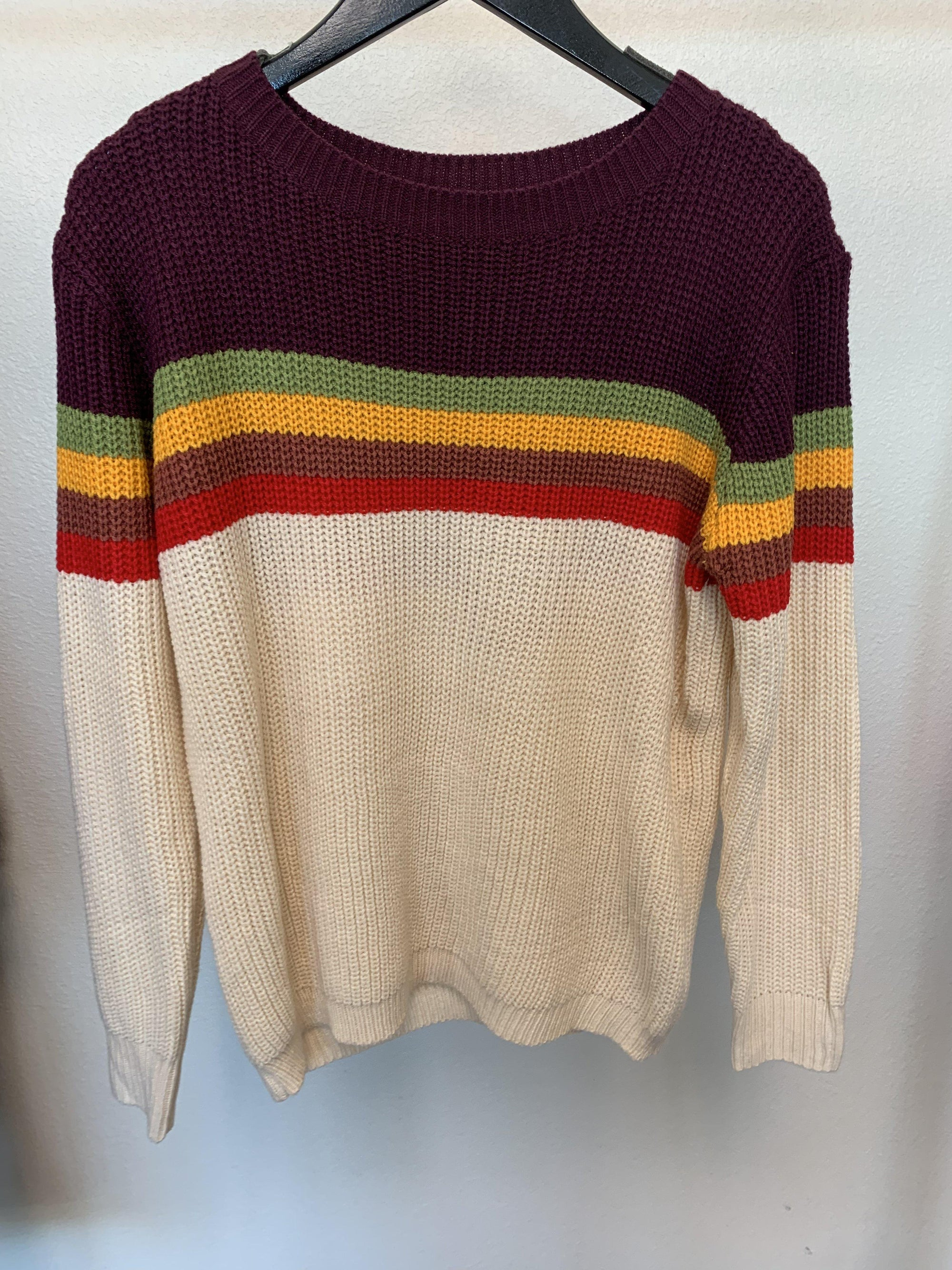 Colorful Commotion Sweater-Women's SALE-New Arrivals-Runway Seven