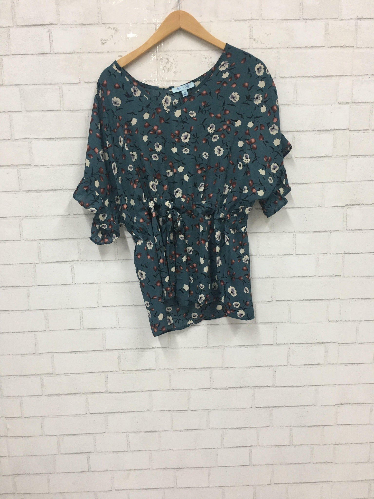 Teal Me You Love Me Top