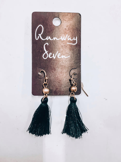 Back In Black Earrings-Women's JEWELRY-New Arrivals-Runway Seven