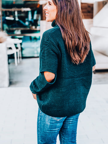Quick Peek Turtleneck Sweater