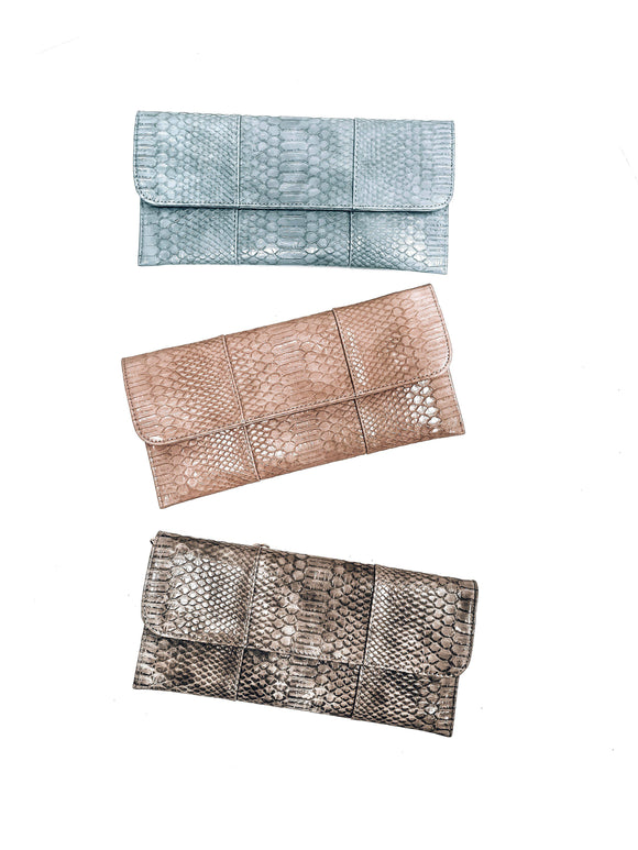 Manhattan Romance Clutch-Women's ACCESSORIES-New Arrivals-Runway Seven