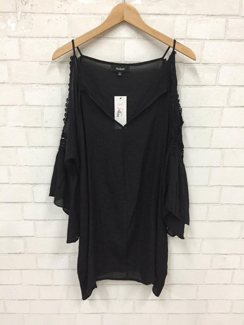 Black Night Tunic-Women's SALE-New Arrivals-Runway Seven
