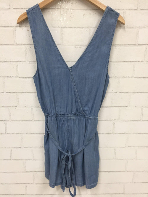 Denim Days Romper-Women's SALE-New Arrivals-Runway Seven