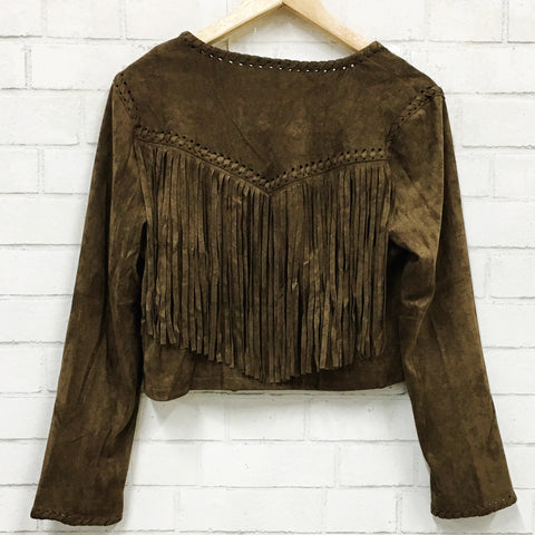 Wild and Free Fringe Jacket
