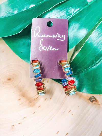 Over The Rainbow Earrings-Women's JEWELRY-New Arrivals-Runway Seven