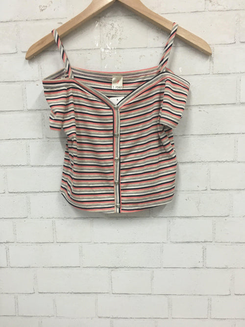 Striped Habit Top-Women's SALE-New Arrivals-Runway Seven