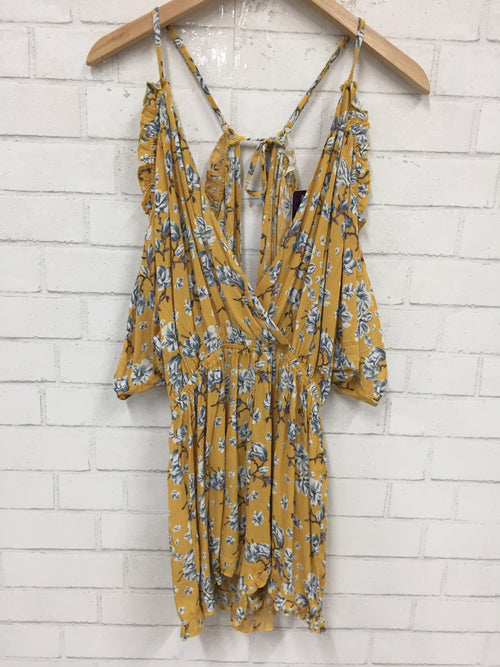 Field Of Flowers Romper-Women's SALE-New Arrivals-Runway Seven