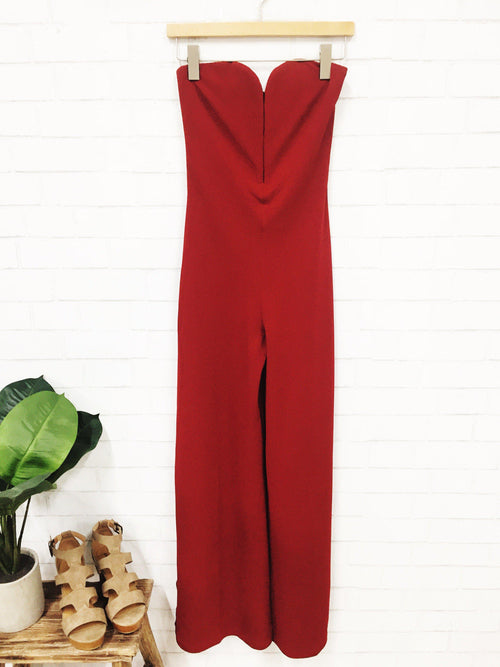 Late Night Jumpsuit-Women's ROMPER-New Arrivals-Runway Seven