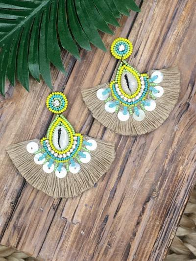 Seaside Magic Earrings-Women's -New Arrivals-Runway Seven