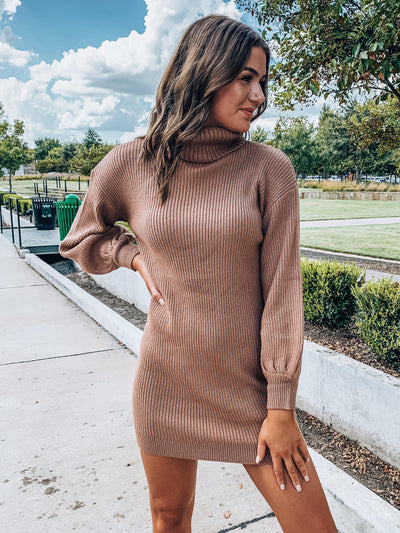 Simply Yours Sweater Dress-Women's DRESS-New Arrivals-Runway Seven