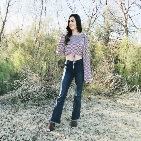Good Flare Day High-Waisted Jeans