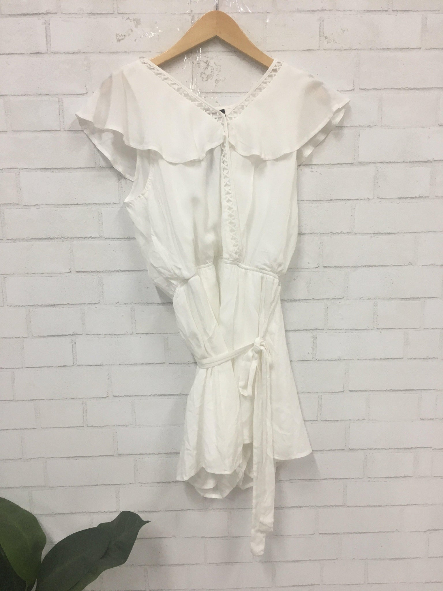 White Out Romper