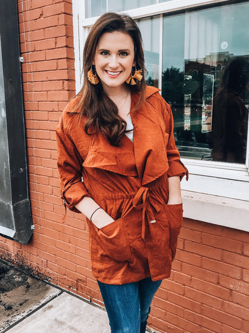 Pumpkin Pie Jacket-Women's TOP-New Arrivals-Runway Seven - Women's Clothing Boutique