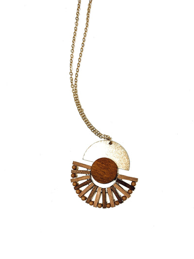 Seaside Sunset Necklace-Women's ACCESSORIES-New Arrivals-Runway Seven