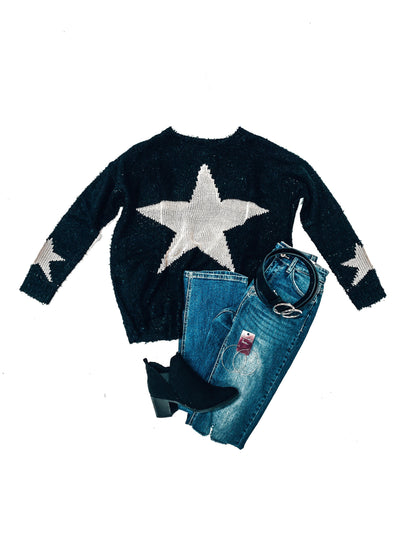 Star Of The Show Sweater-Women's SWEATER-New Arrivals-Runway Seven