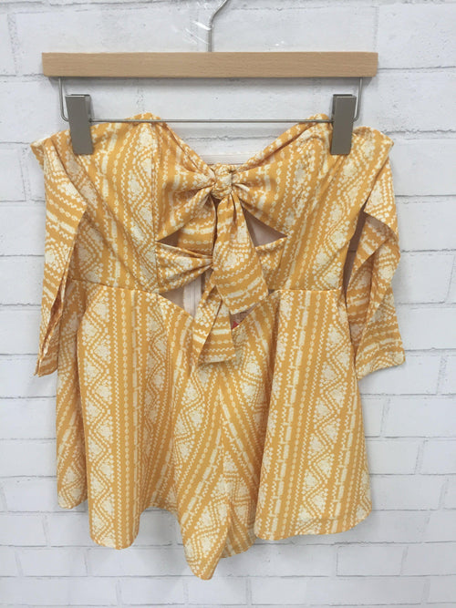Head in Sunflowers Romper-Women's SALE-New Arrivals-Runway Seven