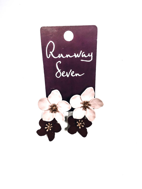 Flower Child Earrings-Women's ACCESSORIES-New Arrivals-Runway Seven