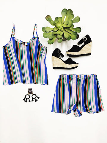 Neon Lights Two-Piece Set