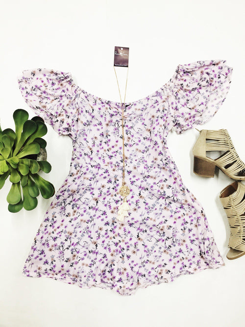 Lavender Honey Romper-Women's ROMPER-New Arrivals-Runway Seven