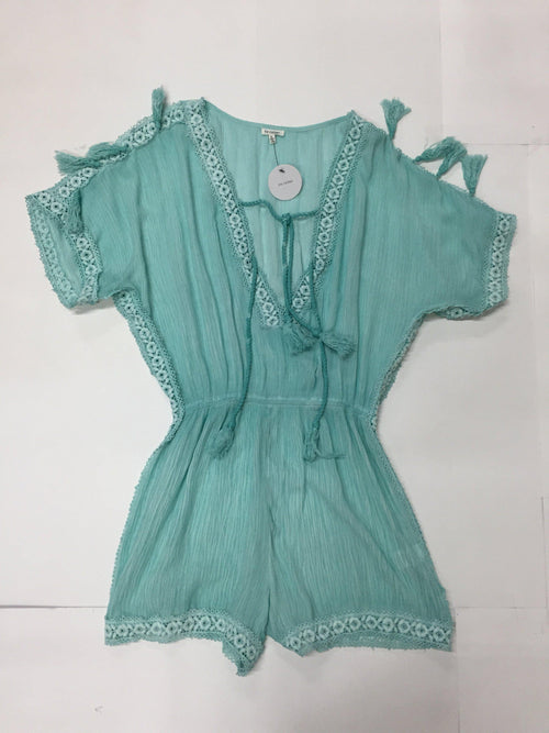 Minty Fresh Romper-Women's SALE-New Arrivals-Runway Seven
