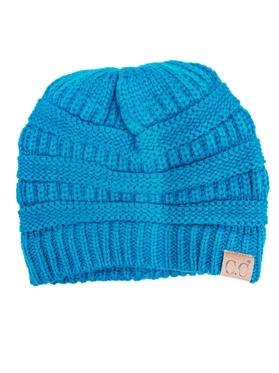 Original C.C. Beanie-Teal-Women's Hat-New Arrivals-Runway Seven