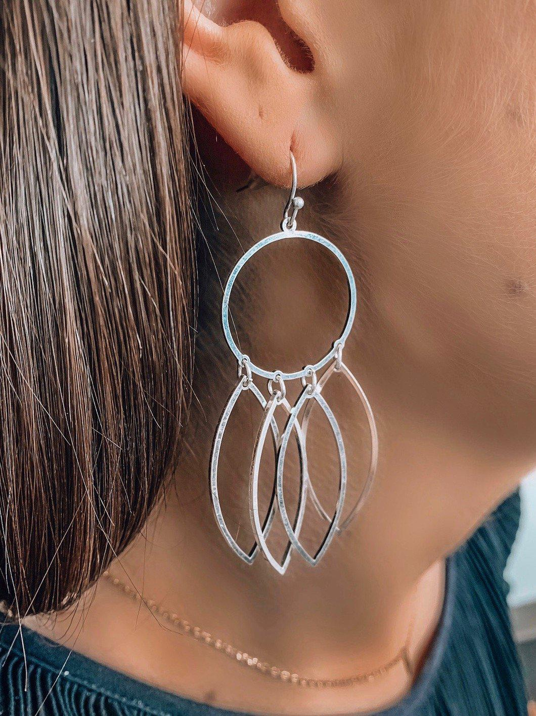 Time To Shine Earrings-Women's ACCESSORIES-New Arrivals-Runway Seven