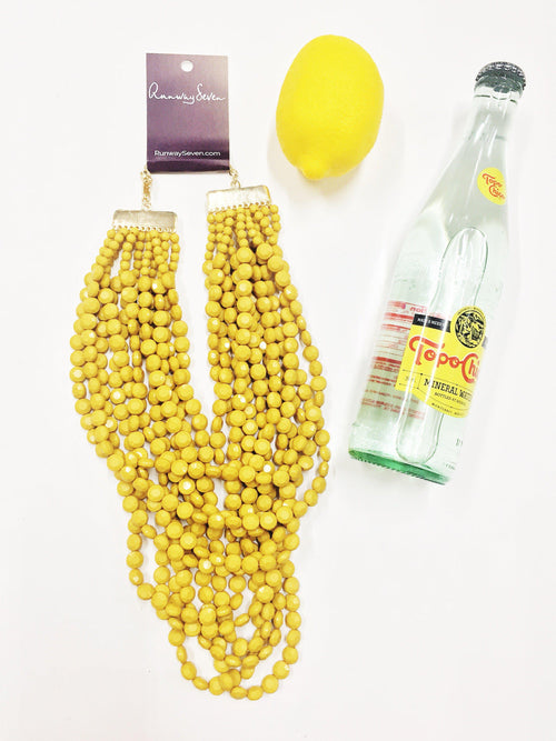 Bauble Beads Necklace-Women's JEWELRY-New Arrivals-Runway Seven