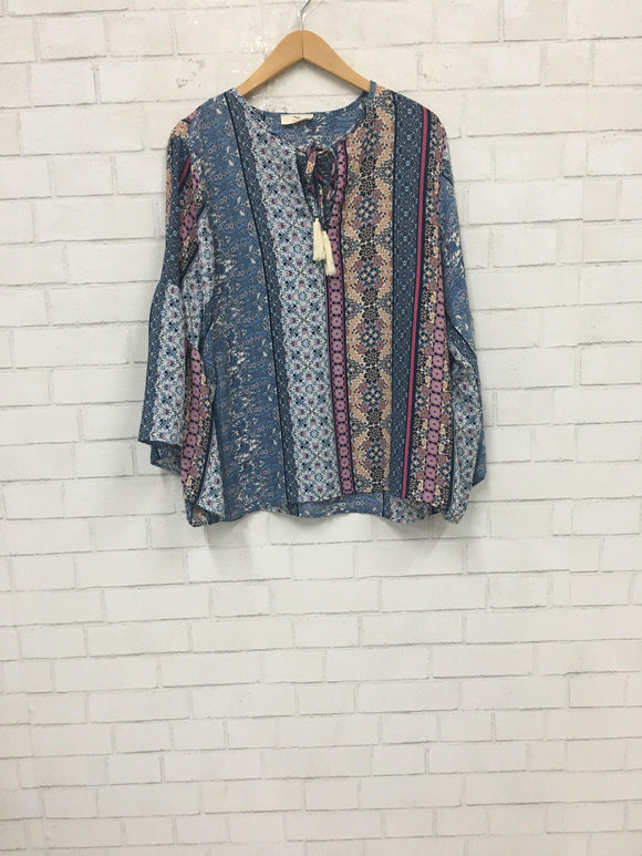 Paisley Party Top-Women's SALE-New Arrivals-Runway Seven
