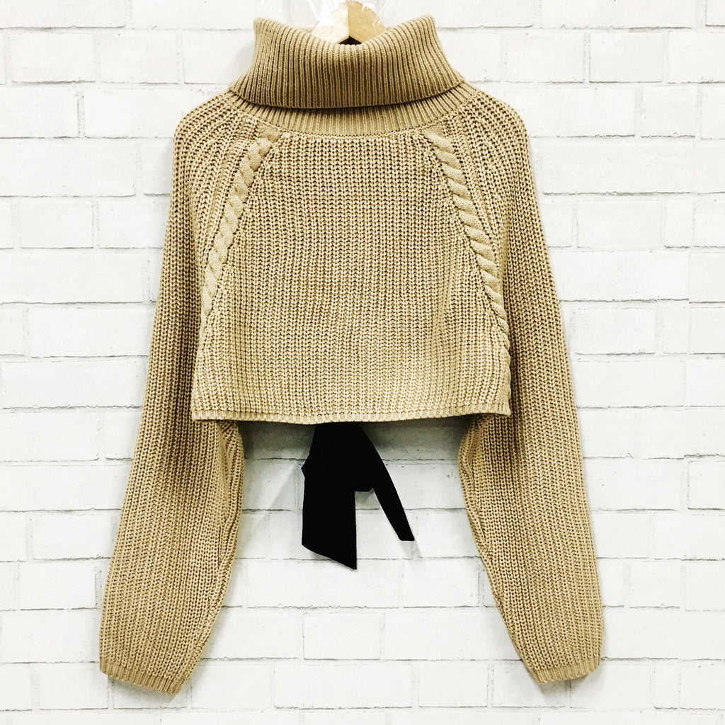 Fun Times Cropped Sweater