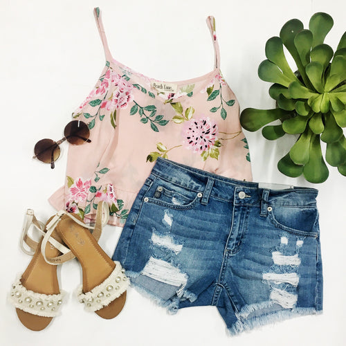 Fresh Start Floral Top