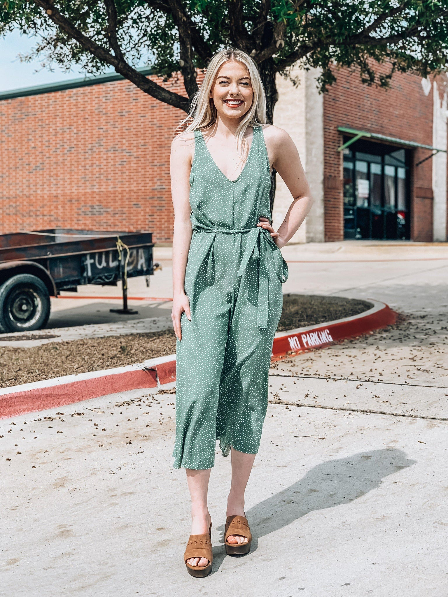 Spotted On Sunset Boulevard Jumpsuit