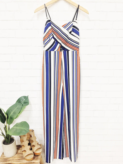 Rootbeer Float Jumpsuit-Women's ROMPER-New Arrivals-Runway Seven