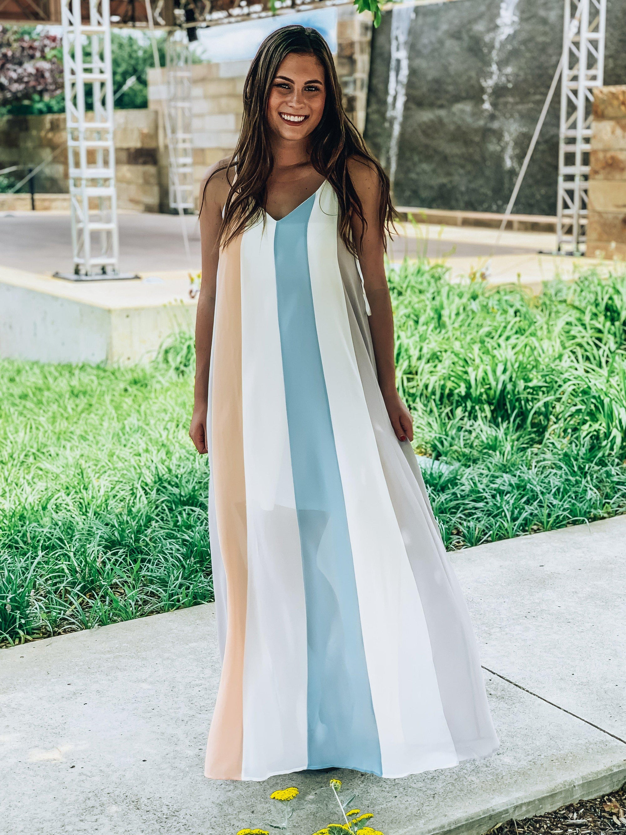 Seaside Serenade Maxi Dress-Women's DRESS-New Arrivals-Runway Seven