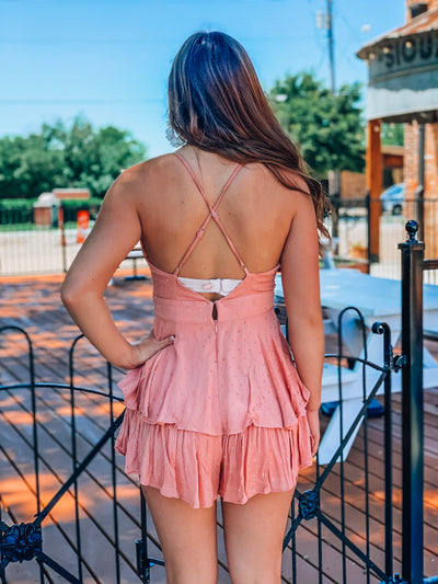 Out Of Your League Romper
