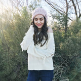 In The Loop Flare-Sleeve Sweater