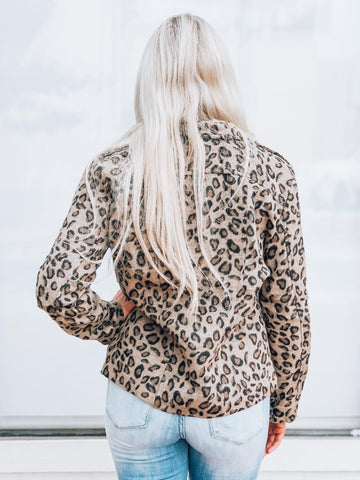 Queen of the Jungle Leopard Jacket