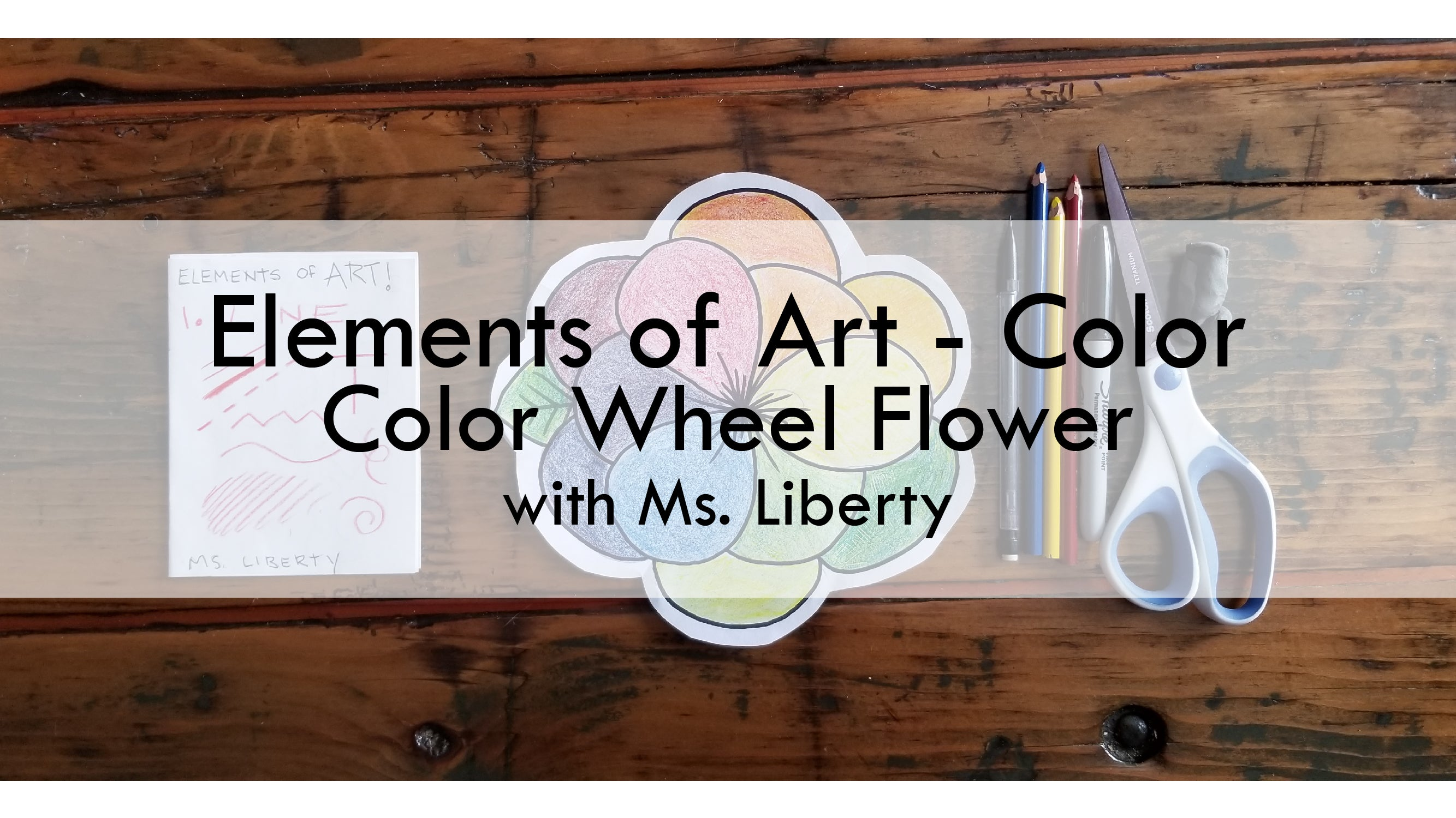 Elements of Art Color Wheel